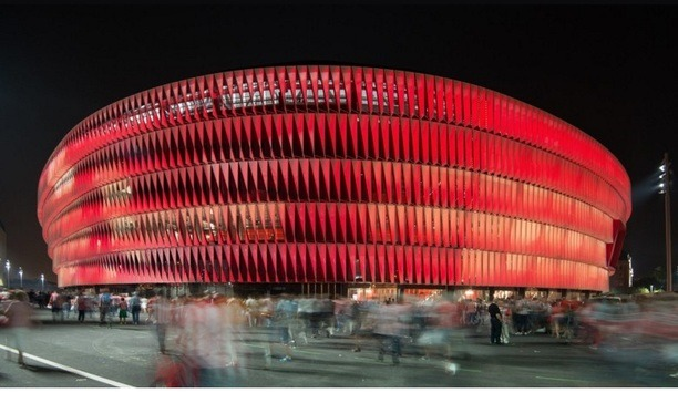 Bilbao's modern San Mamés stadium equipped with Fermax's MEET IP video door entry system
