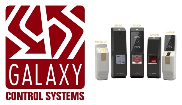 Galaxy Control Systems And Invixium Integrate To Offer Real-time Biometric Security Solutions