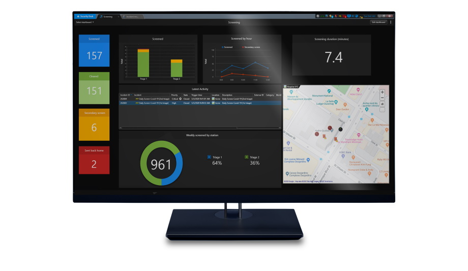 Genetec Customers Use Mission Control Decision Support System To Screen Employees And Visitors
