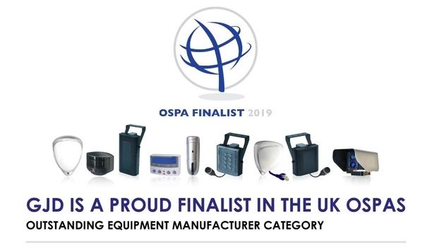 GJD has been shortlisted as UK OSPA 2019 finalist in the OEM category