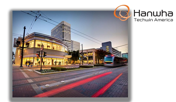 Hanwha Techwin video surveillance solutions watch Houston's GreenStreet entertainment sector