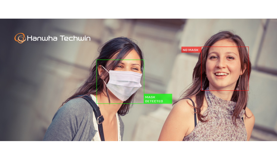 Hanwha Techwin introduces Face Mask Detection application to support the businesses reopening during COVID-19