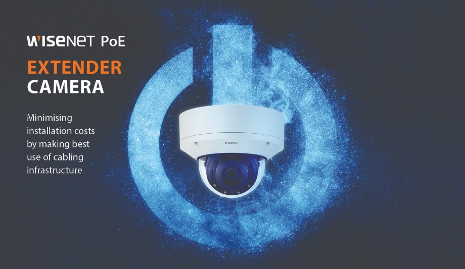 Hanwha Techwin Unveils Cost-Effective Wisenet PoE Extender Cameras With Easy Installation