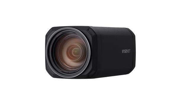 Hanwha Techwin Unveils Next-Gen Wisenet X-Lite XNZ-L6320 Zoom Box Camera