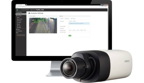 Hanwha Techwin partners with Sprinx Technologies to develop Wisenet Automatic Incident Detection