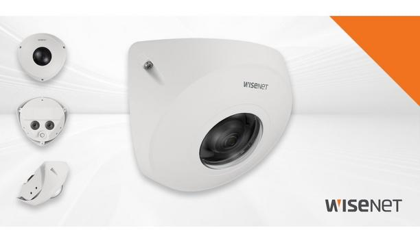 Hanwha Techwin announces TNV-8010C 5-megapixel corner mount camera to enhance ATM security