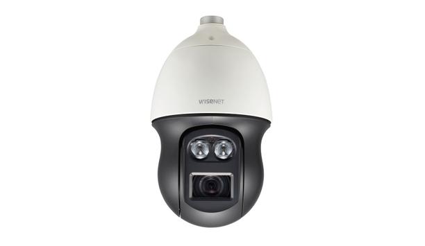 Hanwha Techwin launches 2MP Wisenet XNP-6550RH IR PTZ dome camera