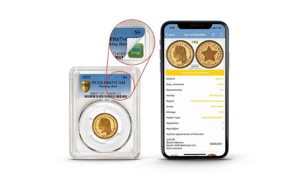 Collectors Universe, Inc. adds HID Trusted Tag Services to its Professional Coin Grading Service