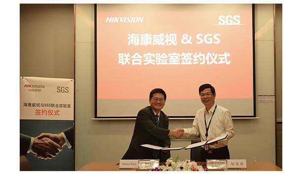 Hikvision and SGS sign memorandum agreement for joint laboratory collaboration
