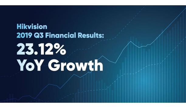 Hikvision Announces Financial Results For The Third Quarter Of 2019 Showing 23.12% Growth YoY
