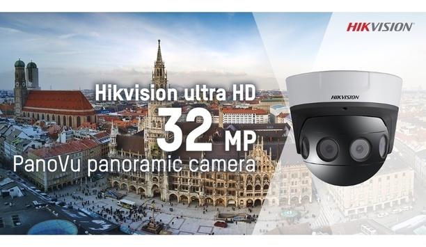 Hikvision expands PanoVu range with ultra HD 32 MP panoramic camera
