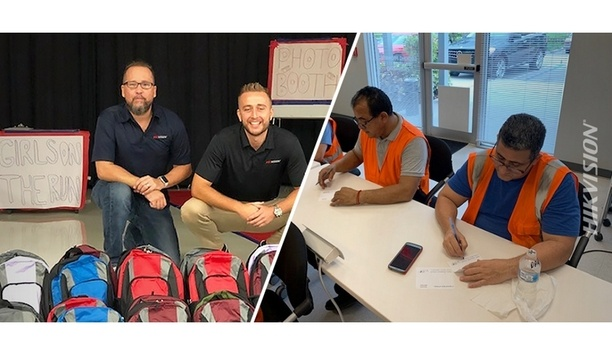 Hikvision Collaborates With Mission 500 To Donate Backpacks With School Supplies To Florida Students