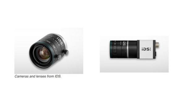 IDS offers more than 20 C-mount lenses and becomes a supplier of all components, from cameras to lenses