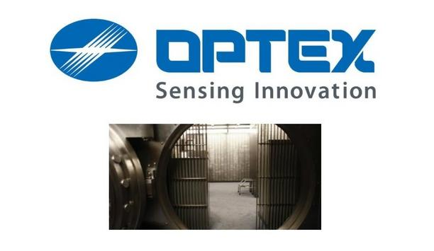Optex REDSCAN RLS-3060 Laser Detectors Secure Renowned Bank's Vault And Safety Deposit Boxes