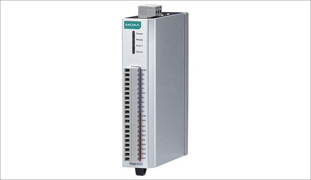Moxa IoLogik E1200 I/O Modules Updated With EtherNet/IP And RESTful API Support