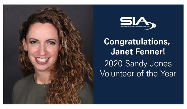 Security Industry Association Names Janet Fenner As Sandy Jones Volunteer Of The Year At ISC West 2020
