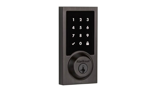 Kwikset Introduces Control4 Compatibility To Its Obsidian Electronic Touchscreen Deadbolt