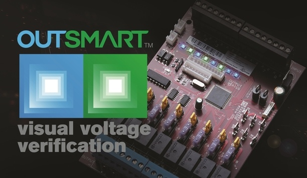 LifeSafety Power Outsmart Technology provides visual notification of voltages with dual-colour LEDs
