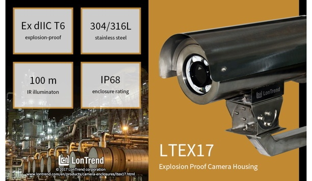 LonTrend launches LTEX17 Explosion Proof Housing with wide range of mounting accessories