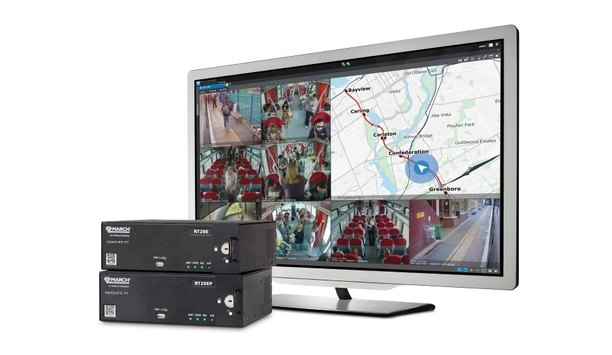 March Networks introduces RideSafe video recording and management solution for passenger rail fleets