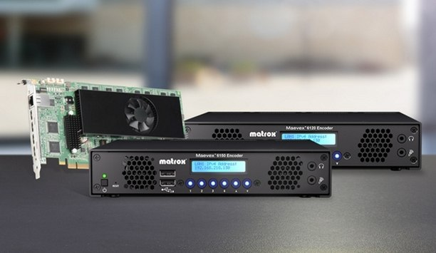 Matrox Collaborates With VIDELCO Europe Ltd. For Distribution Of Maevex 6100 And 5100 Series Enterprise Encoders And Decoders