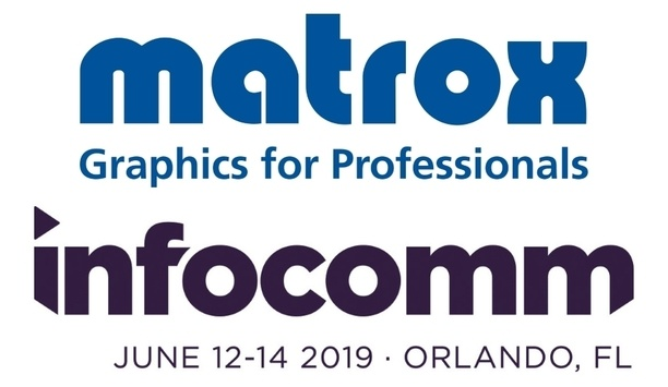 Matrox To Promote The Benefits Of Open Standards For AV Over IP At InfoComm 2019