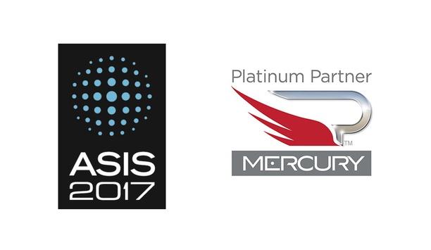 Mercury Showcases Open Access Control Platform At ASIS International 2017