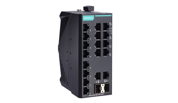 Moxa Industrial Ethernet Switches Deliver Time And Cost Savings By Facilitating Efficient Network Deployment