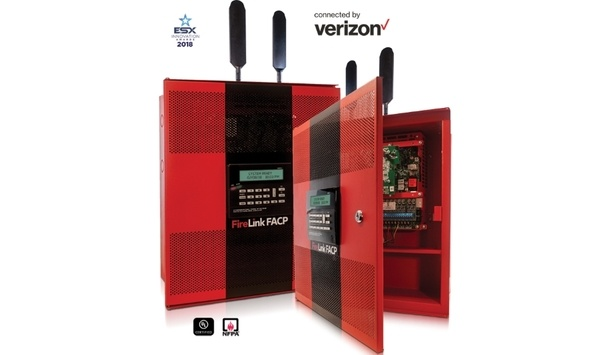 Napco Announces Availability Of Firelink Fire Alarm Control Panel In LTE Model Connected By Verizon