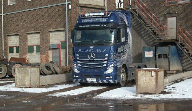 OPTEX intrusion detectors provide perimeter security protection for UK logistics company