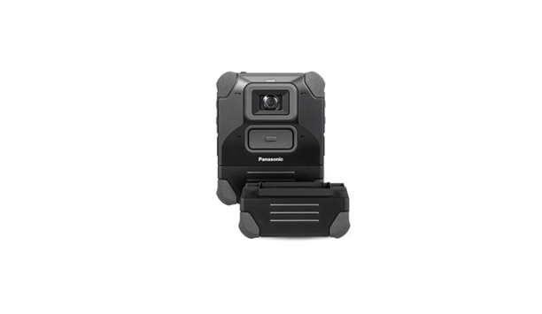 Panasonic i-PRO Body-Worn Camera Ensures Extended Operations With 12-Hour Field-Swappable Battery