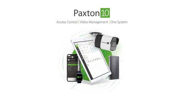 Paxton unveils Paxton10 access control system that combines access events and video footage in one single system