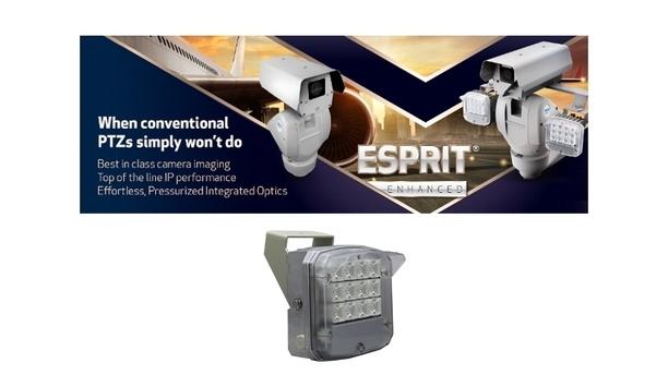 Pelco enahnces Esprit Enhanced PTZ camera product line with four new combination IR/white light illuminator models