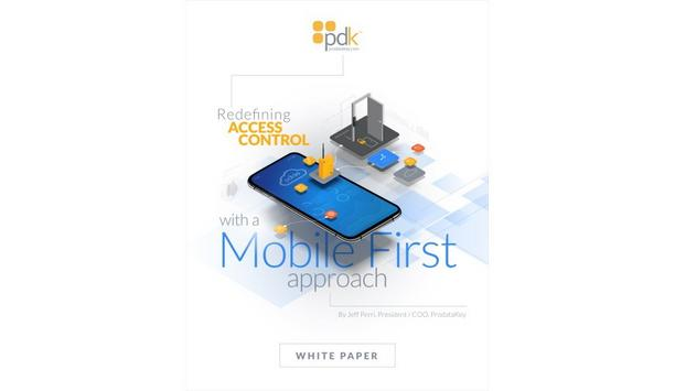 ProdataKey releases a whitepaper on features and advantages of Mobile First access control platform