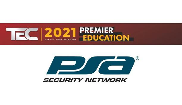 PSA Security Network announces that general registration open for its PSA TEC 2021 event