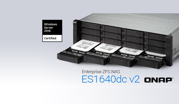 QNAP's Enterprise ZFS NAS certified for Windows Server 2016