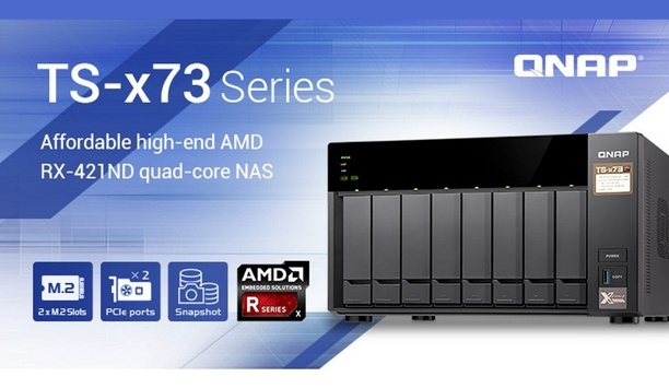 QNAP Systems launches TS-x73 NAS series for enhanced data security