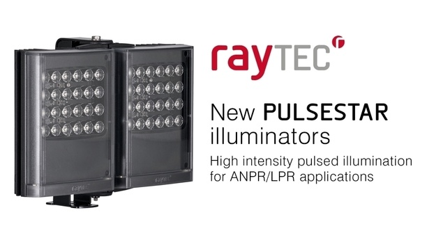Raytec Introduces PULSESTAR LED Illuminators For ANPR/LPR And Machine Vision Applications