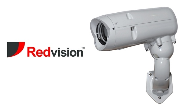 Redvision's VEGA 2010 ruggedised camera housing facilitates outdoor surveillance