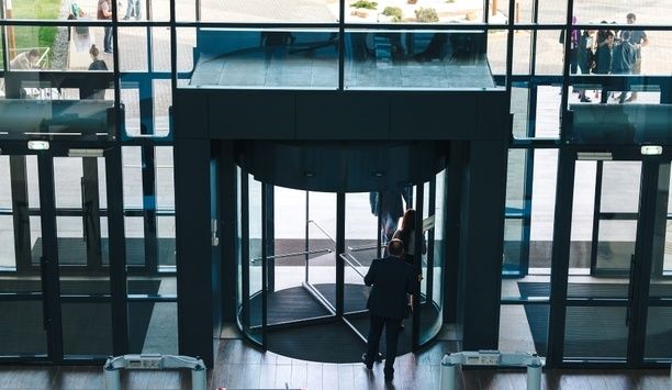 Boom Edam | Revolving doors for business and campus security ...