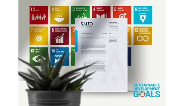 SALTO Systems contributes in helping achieve Sustainable Development Goals laid down by the UN