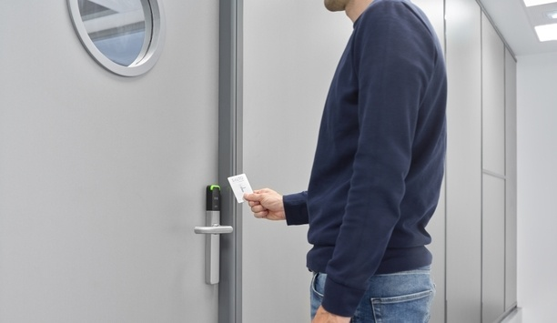 SALTO's SVN-Flex technology enables electronic locks to update user credentials at the door