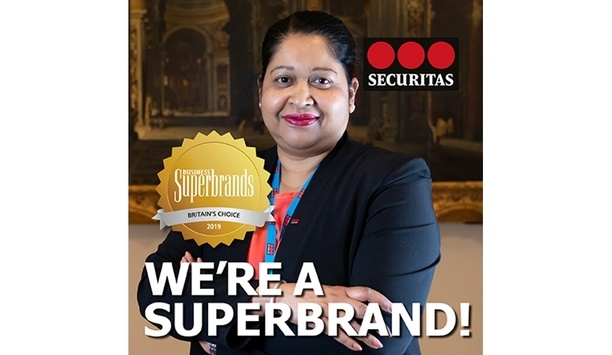 Securitas UK gets awarded with Business Superbrands status for 2019