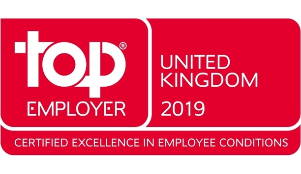Securitas UK recognised as Top Employer by the Top Employers Institute
