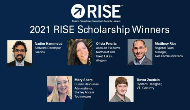Security Industry Association announces the winners of the 2021 SIA RISE Scholarship