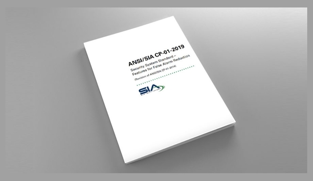 SIA Releases ANSI-approved ANSI/SIA CP-01-2019 Standard For False Alarm Reduction Features