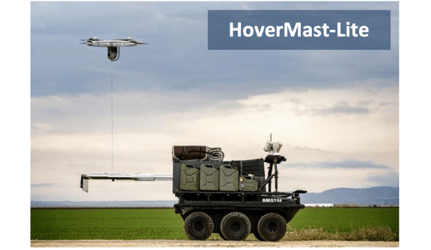 Sky Sapience introduces the next generation of tethered UAV platform called HoverMast - Lite