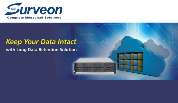 Surveon's Data Retention Solutions facilitate 365-day recording and enhance data security
