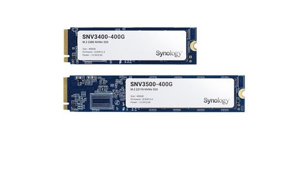 Synology Inc. releases latest generation M.2 NVMe SSDs and 10/25GbE network cards