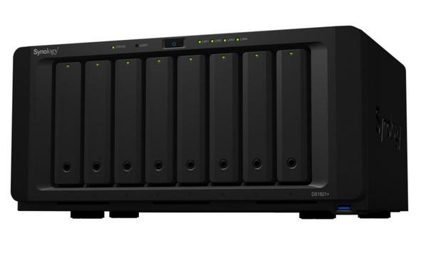 Synology Announces The Launch Of DS1821+ 8-Bay NAS Designed For High-Capacity Data Management And Storage